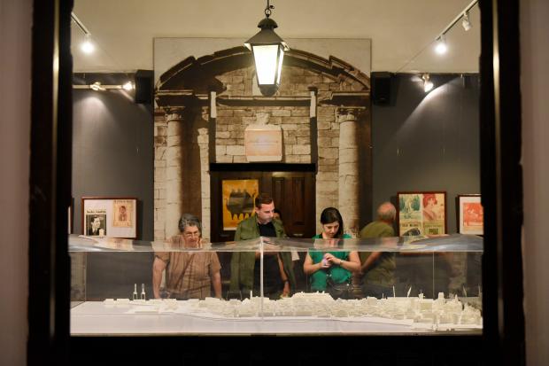 Museos en la noche 2017, en el Cabildo de Montevideo