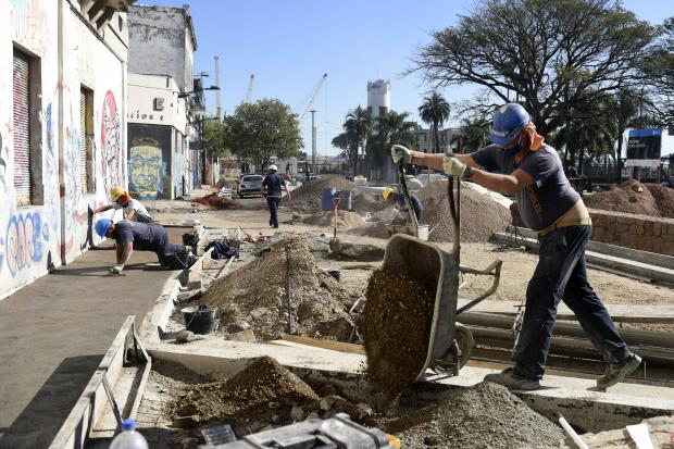 Obras en Plaza Larocca