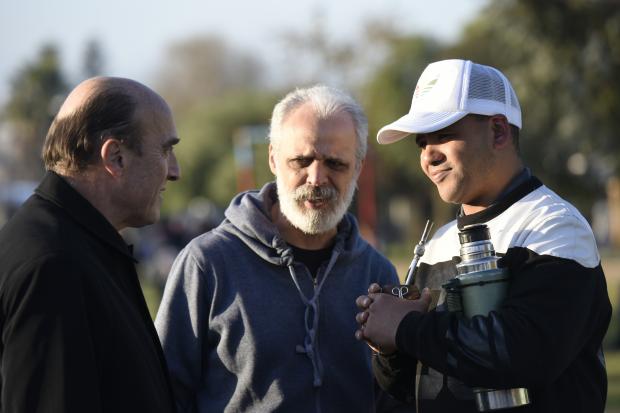 Inauguración obras Plaza de Toledo Chico - Presupuesto Participativo