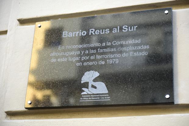 Placa de Memoria Barrio Ansina (Reus al Sur)