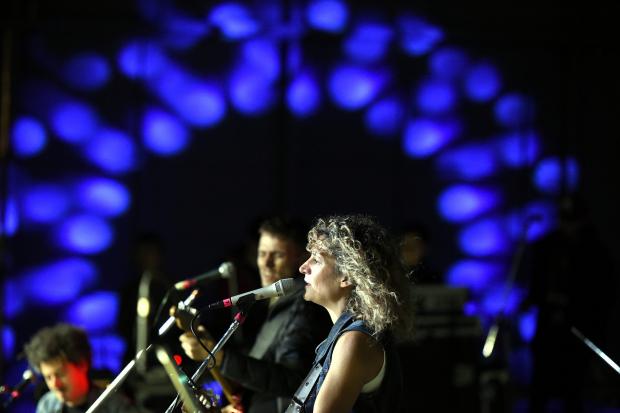 Ana Prada en la Noche de Montevideo, 44 Feria Internacional del Libro de Buenos Aires
