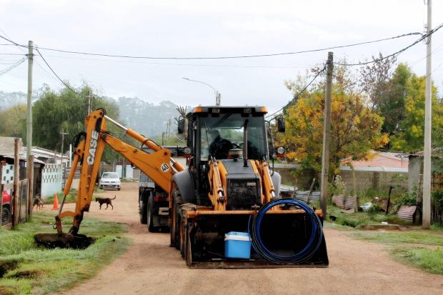 Comienzo de obras en asentamientos Las Cañas y 12 de Octubre