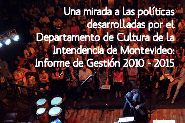Balance Cultura 2015