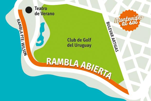 Mapa Rambla Abierta