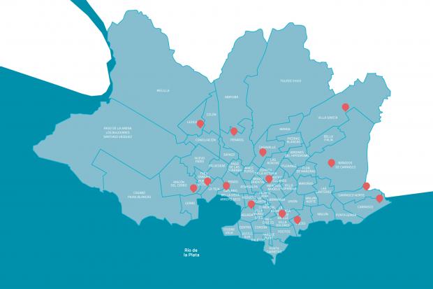 Mapa volquetas