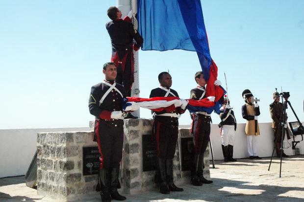 Bandera de Artigas Fortaleza del Cerro