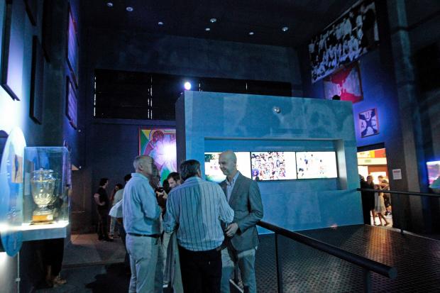 Reinauguración del Museo del Fútbol