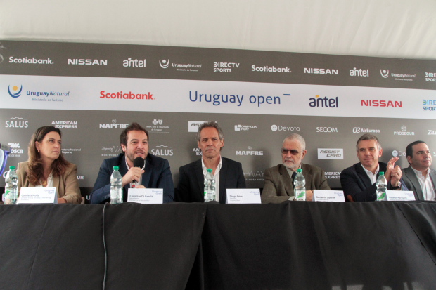 Lanzamiento de Uruguay Tenis Open