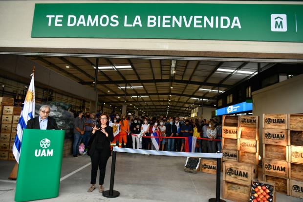 Inauguración de la Unidad Agroalimentaria Metropolitana