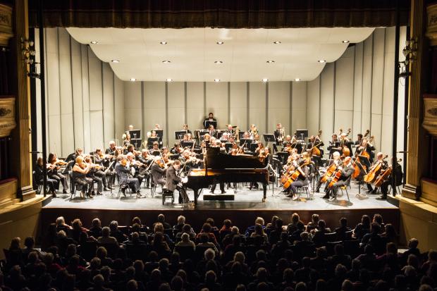 Orquesta Filarmónica de Montevideo. Teatro Solís. 2016.