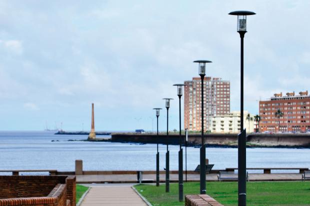 Plaza Argentina. Dique Maua. 9 diciembre 2015