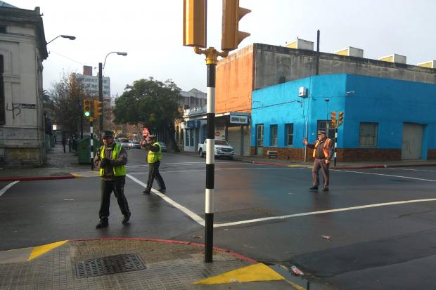 semáforo Marcelino Sosa y Yatay