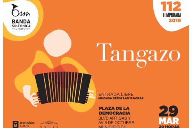 Tangazo en la Plaza de la Democracia