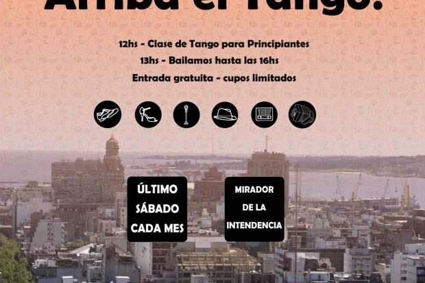 Arriba el Tango: Milongas en el mirador de la Intendencia de Montevideo