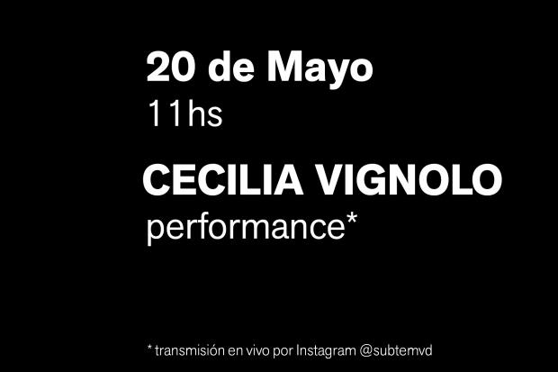 Performance Abrazo - Cecilia Vignolo