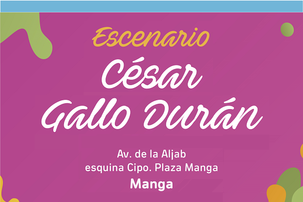Escenario César Gallo Durán