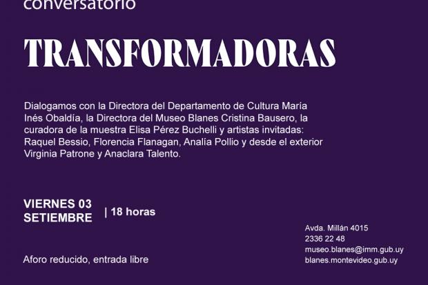 Transformadoras. Mujeres artistas en la colección del Museo Blanes.