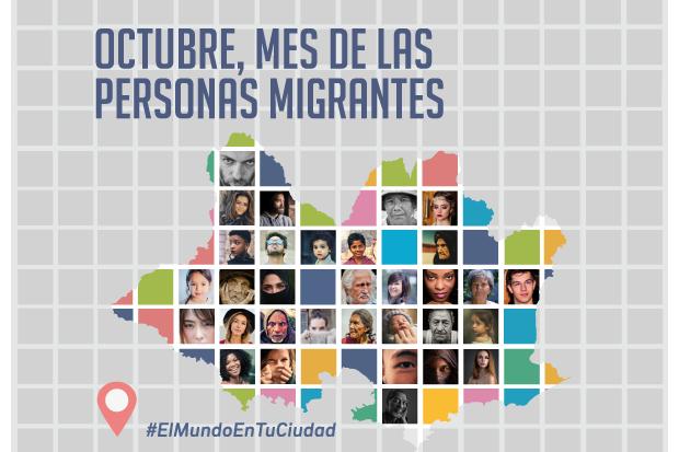 Gráfica Octubre Mes de las Personas Migrantes