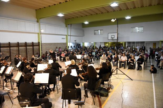 Filarmónica en los Municipios de Montevideo