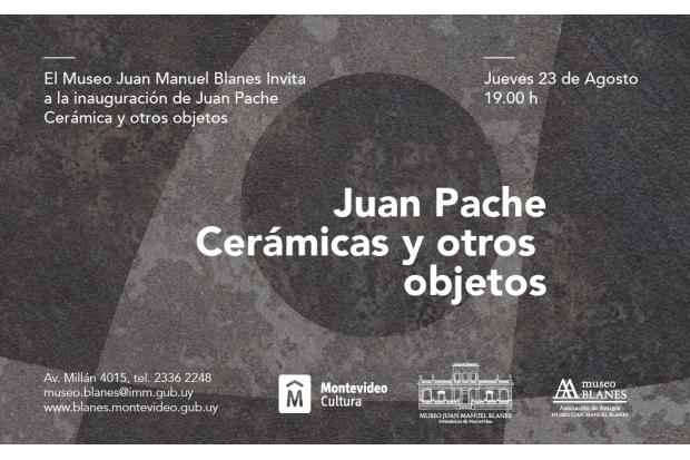 Juan Pache, cerámicas y otros objetos