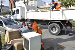 Recolección de residuos voluminosos