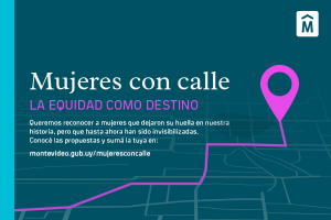 Mujeres con calle