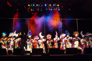 Concurso del Carnaval de las promesas. Teatro de Verano.