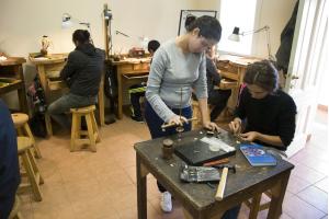 Curso de artesanía en Cedel Carrasco Norte