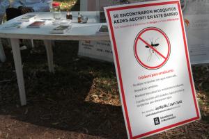 Prevención mosquitos Aedes Aegypti