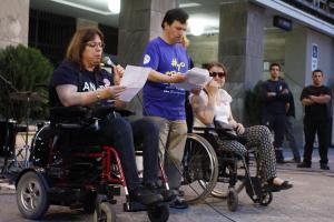 Marcha por la accesibilidad y la inclusión