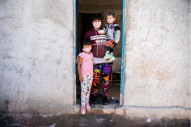 Obras en vivienda de barrio Antares
