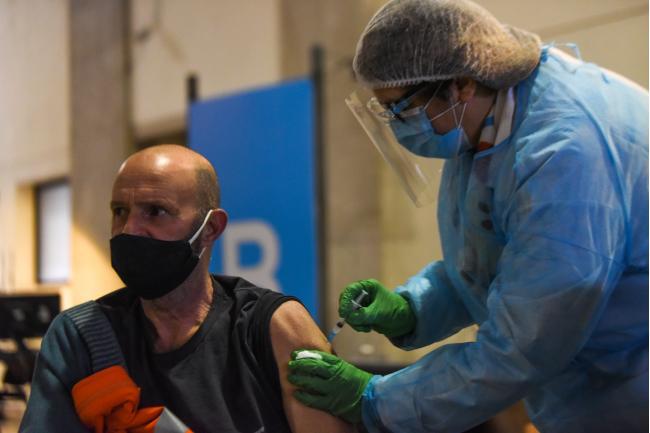 Jornada de vacunación a funicionarios y funcionarias