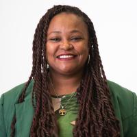 Coordinadora de la Secretaría de Equidad Étnico Racial y Poblaciones Migrantes Elizabeth Suárez
