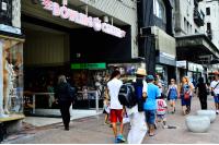 Nueva carteleria en la Avenida 18 de julio