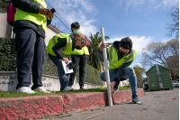 Relevamiento de estado de veredas en el marco del Proyecto Ciudades Accesibles ABC