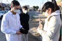 Entrega de saturómetros en Punta de Manga por programa de seguimiento ambulatorio Covid-19