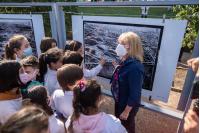 Inauguración de fotogalería en el Parque Batlle