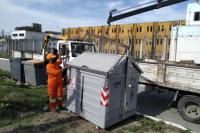 Intervención para recolección de residuos en INR S. Vázquez