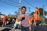 Bituminización del barrio 19 de Abril en el marco del Plan ABC