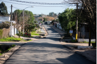 Segundo tramo de asfaltado en barrio La Carbonera