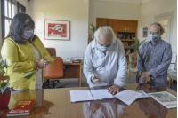 Firma de convenio de apoyo a la Federación Uruguaya de Teatros Independientes en el marco del Programa Fortalecimiento de las Artes