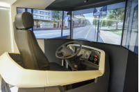 Inauguración de simulador de manejo
