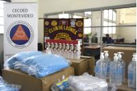 Cecoed recibe donación del Club de Leones Salto-Ayuí