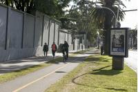 Bicicircuito Montevideo. BIcisenda Bv. Gral. Artigas