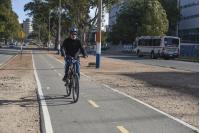 Bicicircuito Montevideo. Bicisenda Av. Ricaldoni