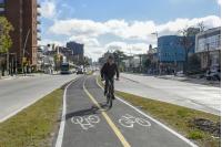 Bicicircuito Montevideo. Bicisenda Av. Luis A. de Herrera