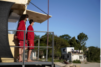 Servicio de guardavidas en Playa Santa Catalina