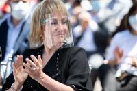 Ceremonia de asunción de Intendenta Carolina Cosse