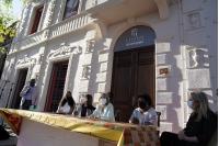 Remodelación de fachada en Casa de la Cultura Afrouruguaya