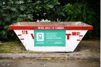 Distribución de volquetas para recolección de residuos